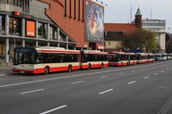 Na gdańskich drogach dominują Solarisy, MAN-y...