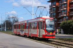 Najpopularniejszymi tramwajami z częścią niskopodłogową są N8C-MF01, zwane Dortmundami.