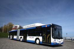W Gdyni można też podróżować 16 autobusami napędzanymi gazem ziemnym.