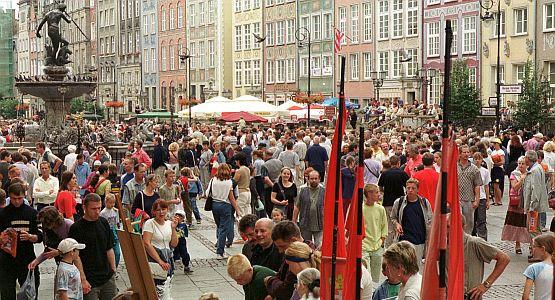 Żadna sztuka przyciągnąć do Gdańska turystów latem...