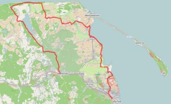 Kliknij na mapę by zapoznać się ze szczegółami trasy