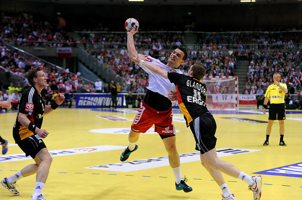 Michał Jurecki grał już przeciwko Niemcom w Ergo Arenie. Rozgrywający Vive Targów Kielce jest jednym z 22 powołanych na mecze reprezentacji Polski w czerwcu.