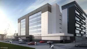 """W ramach modernizacji budynku """"Pentagonu"""" zostaną przygotowane nowe prototypownie, warsztaty, pracownie projektowe przystosowane do tzw. czystej produkcji elektroniki, automatyki, robotyki, inżynierii i designu, pracownie artystów i architektów"""