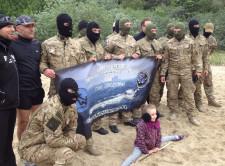 Członkowie Morskiej Jednostki Działań Specjalnych.