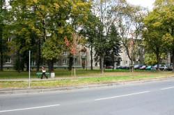 Nowa Huta, choć budowana jako socrealistyczna wizytówka nowej Polski, pełna jest rozwiązań typowych dla modernizmu, takich np. jak odsunięcie zabudowy od ulicy.