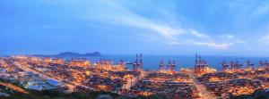 Największy port kontenerowy na świecie — Szanghaj przeładował w 2013 roku 33,6 mln TEU.
