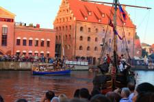 Bitwa morska na Motławie podczas 17 edycji Baltic Sail