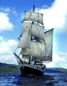 """Żaglowiec """"Jean de la Lune"""" z Wielkiej Brytanii będzie gościem tegorocznej edycji Baltic Sail"""