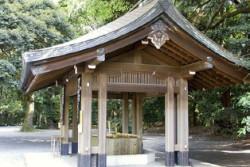W altanie, wzorowanej na tokijskim pierwowzorze, będzie można schować się przed deszczem lub promieniami słońca.