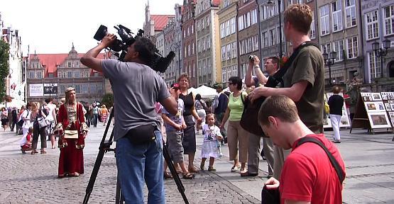 Filmowcy ze Sky Travel spędzili w Trójmieście tylko kilka godzin, ale efektem ich wizyty mogą być tysiące nowych turystów z Wysp Brytyjskich.