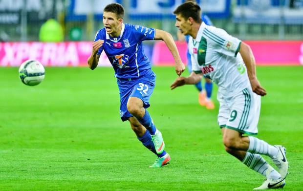 Mateusz Możdżeń strzelał dotychczas Lechii gole w ekstraklasie. Teraz walczyć będzie o miejsce na prawej obronie w gdańskiej drużynie.