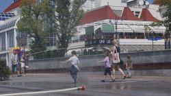 Jeszcze dziś na Placu Przyjaciół Sopotu stanie kurtyna wodna.