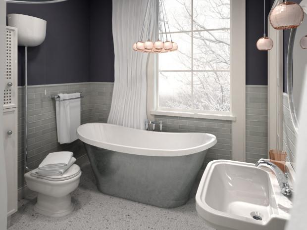 łazienka Z Pomieszczeniem Gospodarczym Serwis Dom I