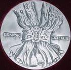 Rewers medalu św. Wojciecha.