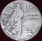 Awers medalu św. Wojciecha.