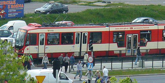"""Zmodernizowany """"Dortmund"""" od wtorku wozi pasażerów po Gdańsku."""