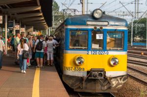 Linie mają ułatwić pasażerom orientację, na jakiej trasie jedzie dany pociąg i jak bardzo będzie on zatłoczony.