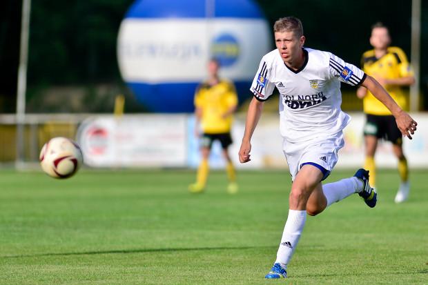 Michał Marcjanik w reprezentacji Polski do lat 20 debiutował w meczu z Włochami. Od początku tego sezonu jest podstawowym stoperem Arki.