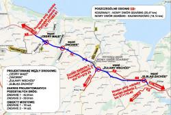 W ramach budowy trasy S7 powstaną cztery nowe węzły drogowe oraz 32 obiekty mostowe, w tym dwa nowe mosty na Wiśle.