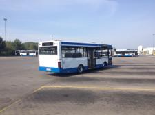Wiele emocji wzbudziły przejazdy sprawnościowe autobusem miejskim.