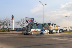 Trasa tramwajowa przez ul. Nową Jabłoniową ma mieć zakończenie w rejonie centrów handlowych przy ul. Przywidzkiej. Nie ma jednak jeszcze ostatecznej decyzji, czy trasa ta ma szansę na realizację w nieodległej przyszłości.