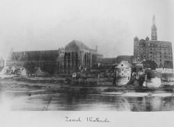Malbork, 1857 rok.  MN Warszawa.