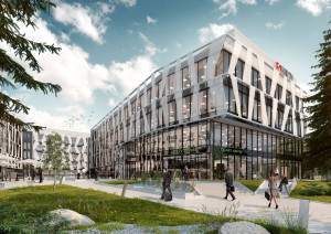 Tensor to zespół trzech biurowców, oznaczonych literami X, Y oraz Z. Pierwszy budynek gotowy będzie w I kw. 2016 r.