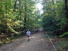 Leśna trasa gdańskiej odsłony Pucharu Polski.
