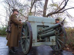 """""""Prawosławna"""" - taka armata była na wyposażeniu obrońców Westerplatte w 1939 roku."""