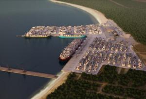 Nowy terminal będzie usytuowany pomiędzy pirsem rudowym, a istniejącym już terminalem. Port Gdański wydzierżawił na ten cel ok. 27 hektarów.