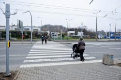 Całość ma poprawić bezpieczeństwo pieszych, którzy na przejściu pojawiają się dość często.