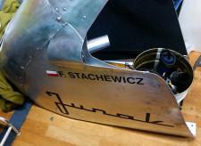 Osłona aerodynamiczna zmodyfikowanego Junaka.
