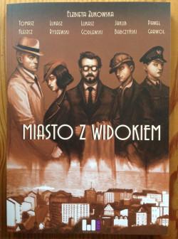 """Jakub Babczyński jest jednym ze współautorów komiksu """"Miasto z widokiem"""", którego akcja rozgrywa się w przedwojennej Gdyni."""