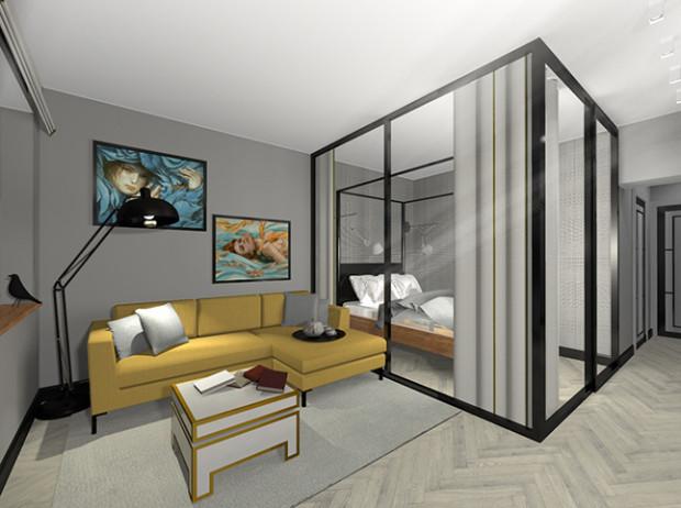 Chwalebne Sypialnia rodziców i pokój dziecka w małym mieszkaniu - Serwis DOM RD06