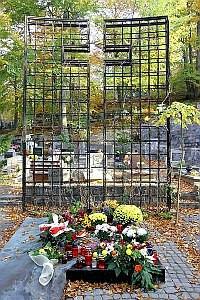 Grób Franciszki Cegielskiej na cmentarzu w Witominie.