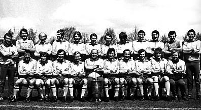 Arka Gdynia z Pucharem Polski - 1979r.