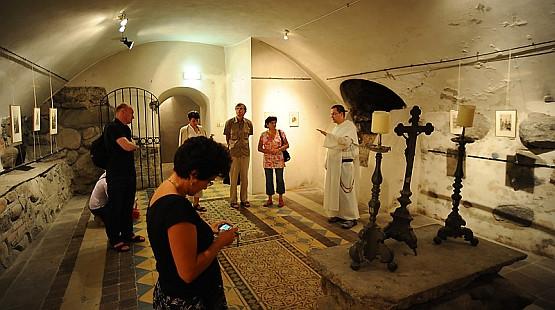 Podczas Duszy Jarmarku można zwiedzać zakamarki klasztoru, m.in. kryptę pod kaplicą św. Jacka.