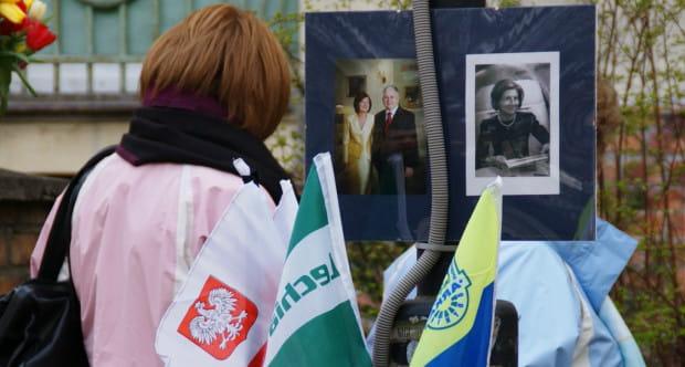 Kwiaty pewnie pojawią się przy byłym domu prezydenckiej pary w Sopocie.
