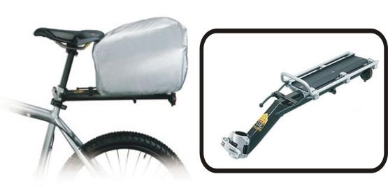 Miejski bagażnik montowany do sztycy siodła firmy Topeak