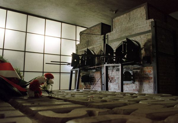 Piece krematoryjne w obozie w Stutthofie. Pierwsi Polacy z Wolnego Miasta Gdańska trafili tu już 2 września 1939 r.