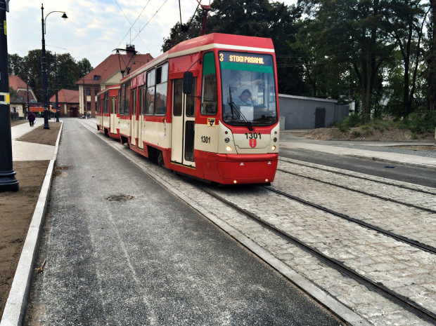 Nie bez powodu projektant przewidział wąską jezdnię dla samochodów na ul. Lenartowicza i ul. Siennickiej.