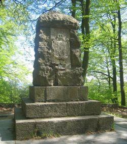 Pomnik na Pachołku – stan obecny.