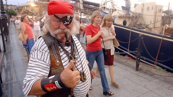 Zawsze na posterunku, wesoły, wręcz rubaszny - takiego zapamiętamy Pirata Andrzeja.
