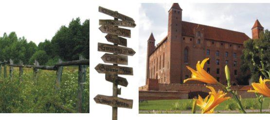 Krzyżacki zamek w Gniewie też jest piekny