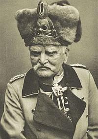 Generał August von Mackensen, dowódca Czarnych Huzarów z Gdańska.
