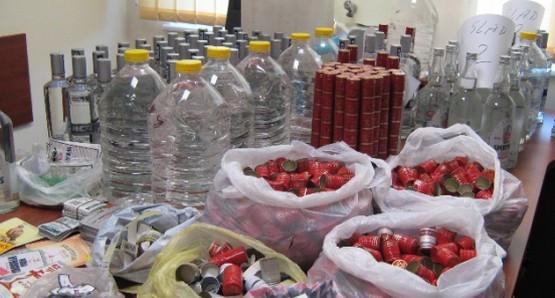 Policja nie wyklucza, iż znaleziony w Gdańsku nielegalny alkohol mógł być zanieczyszczony