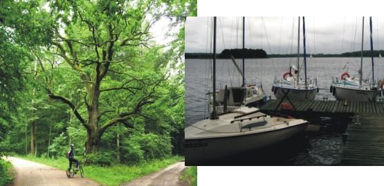 W drodze nad Jeziorak przez Park Krajobrazowy Pojezierza Iławskiego