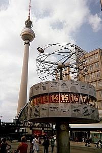 Wieża na Alexanderplatz.