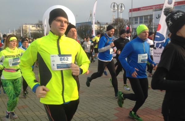 Rekord frekwencji nie padł, ale ponad 4,5 tys. biegaczy to niezły wynik.