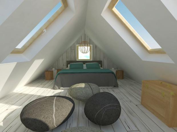 Podstawowy problem na poddaszu, które już na wstępie nie zostało zaprojektowane jako pomieszczenie mieszkalne, stanowi brak okien. Zazwyczaj konieczny jest montaż okien połaciowych. Im będzie ich więcej, tym bardziej przestronne będzie wydawało się wnętrze.